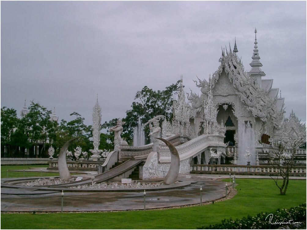 Wat Rong Khun, der weiße Tempel