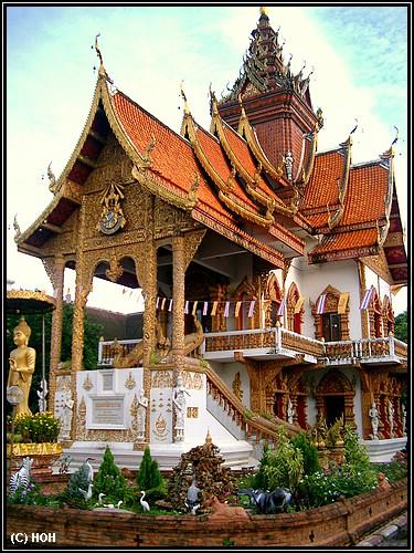Wat mit einer alten Mönchs-Bibliothek
