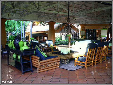 Lounge im Hotel