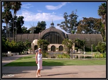 Mel im Balboa Park
