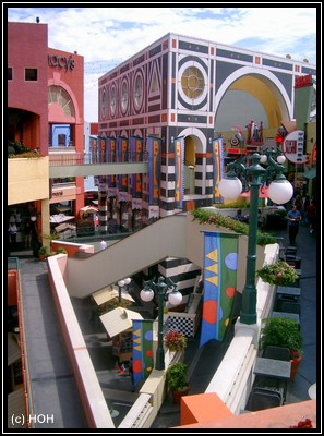 Horton Plaza Shopping Center in San Diego