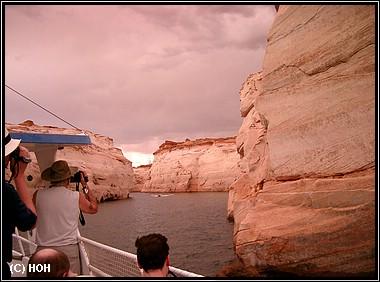 Bootsfahrt auf dem Lake Powell