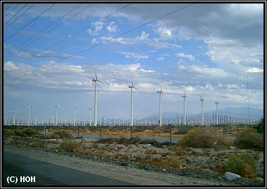 Windräder bei Palm Springs