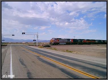 Bahnübergang auf der Route 66