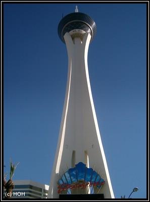 Stratosphere Tower ... nur eines von vielen Las Vegas Hotels und Casinos