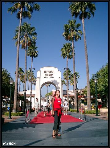 Eingangsbereich der Universal Studios Los Angeles
