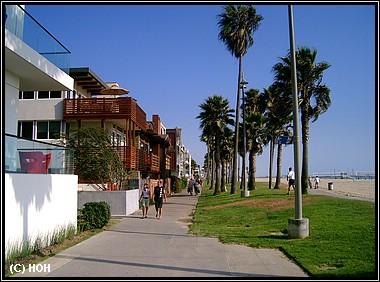 Promenade bei Venice Beach