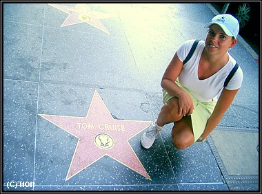 Walk of Fame ... Tom Cruise' Stern