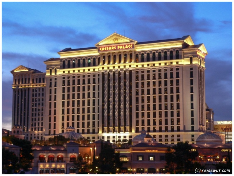 Caesars Palace zur Blue Hour