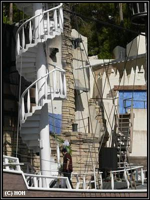 Treasure Island Schiff am Las Vegas Strip