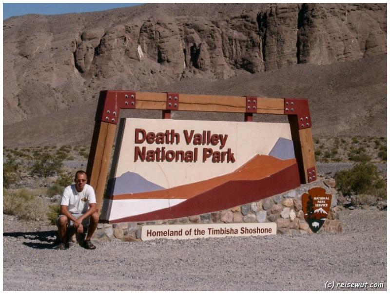 Entrance Death Valley