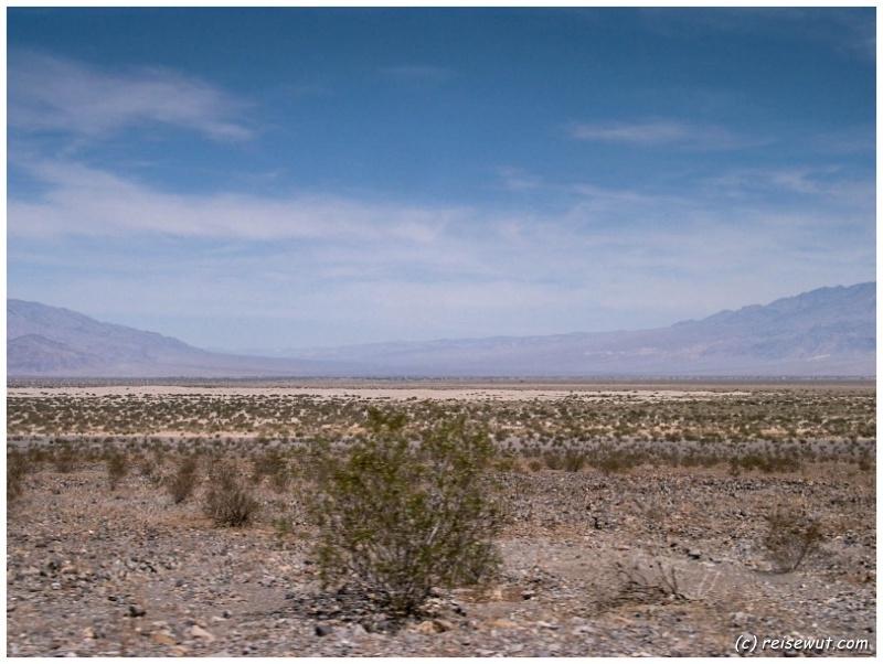 Blick durchs Death Valley