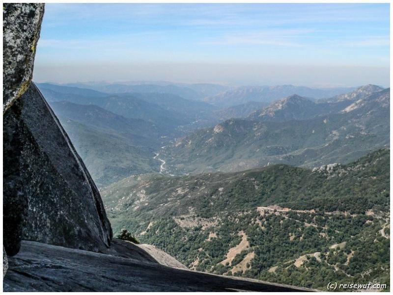 Blick auf den Middle Fork Canyon Overlook