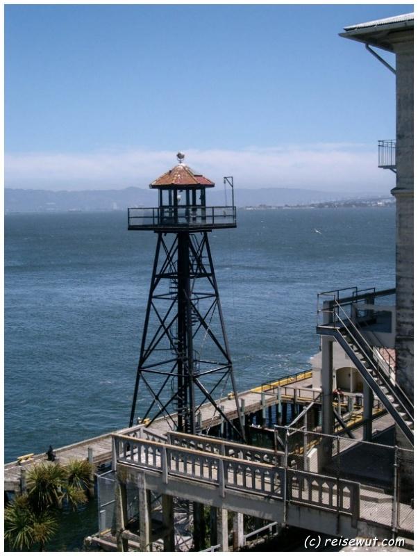 Wachturm auf Alcatraz