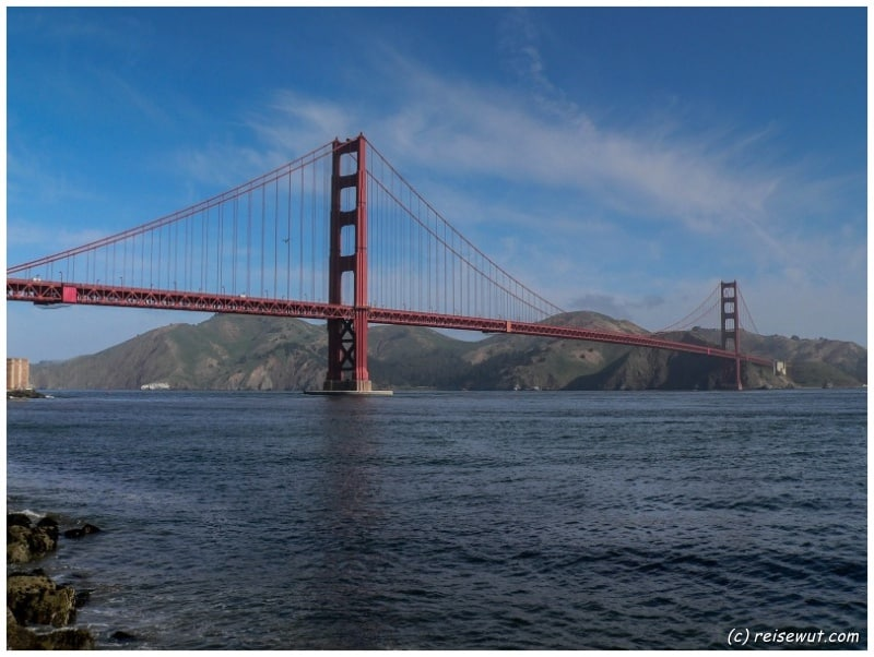 Golden Gate Bridge ... von Fort Point aus gesehen