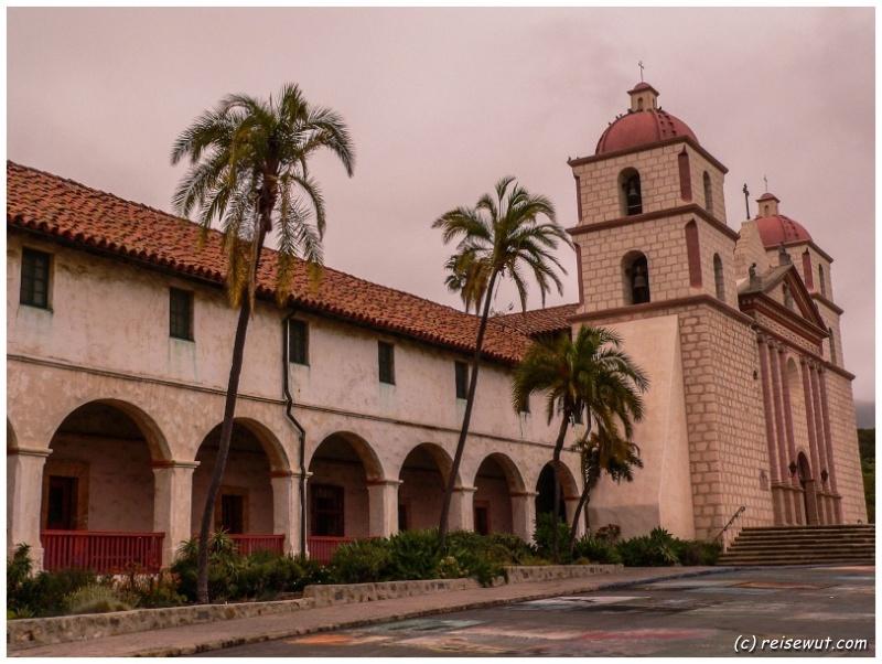 Mission Santa Barbara, einfach ein absoluter Traum