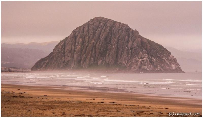 Morro Rock am frühen Morgen