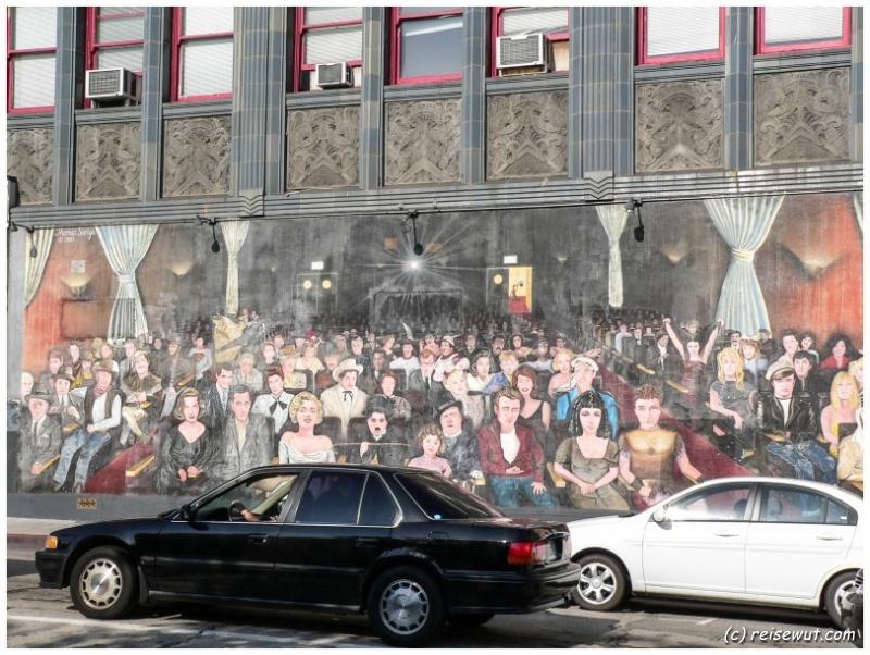 Mural in Hollywood