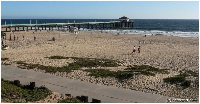 Manhattan Beach, im Hintergrund der Pier