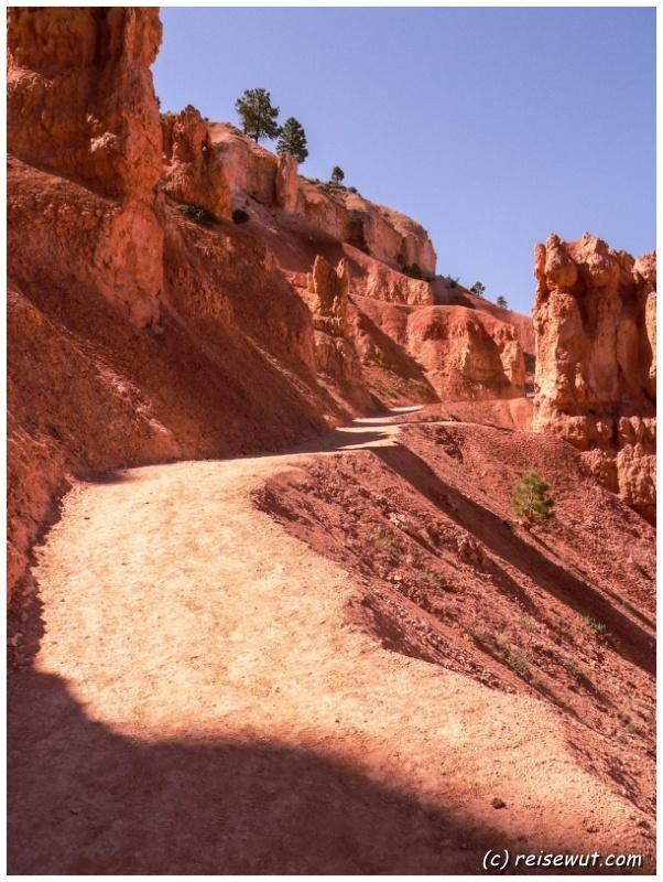 Auf dem Navajo Loop Trail
