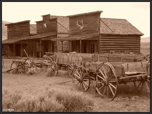 Old Trail Town in Cody