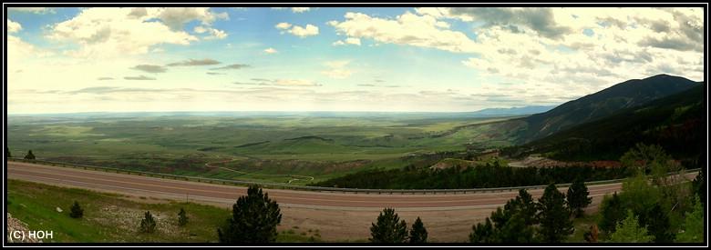 Auf dem Weg nach Cody geht es auch durch den Bighorn National Forest