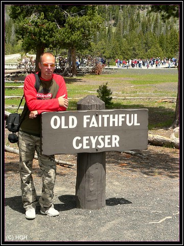 Old Faithful Sign