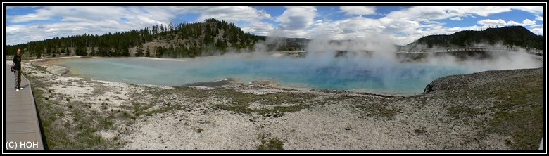 Bei Grand Prismatic Spring