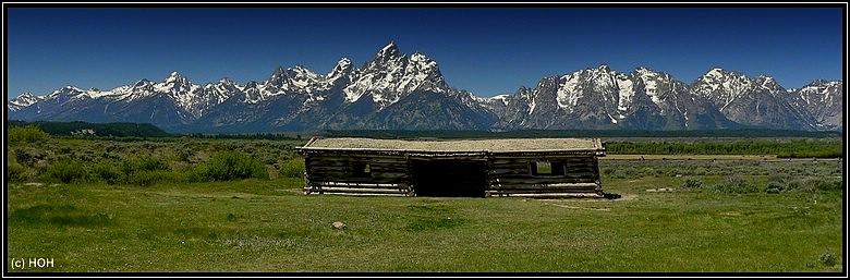 Die historische Cunningham Cabin