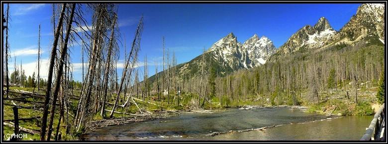 Auf dem Trail zum Jenny Lake