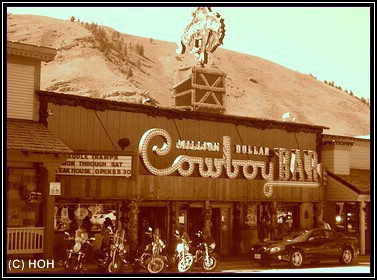Million Dollar Cowboy Bar, Jackson Hole