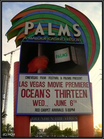 Palms Movie Premiere Ocean's Thirteen