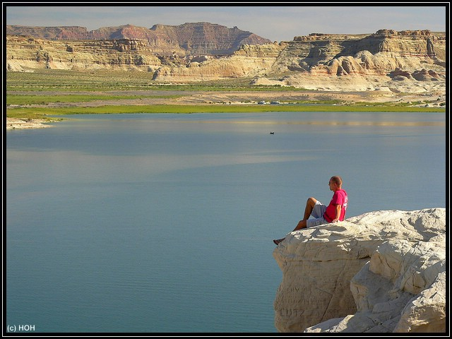 Viewpoint am Lake Powell