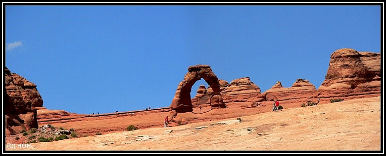Delicate Arch Viewpoint Panorama