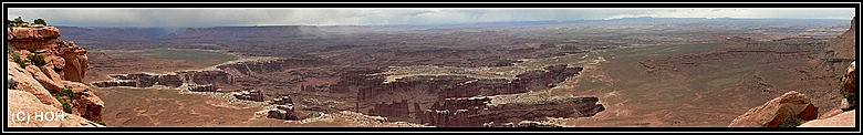 Grand Viw Point im Canyonlands National Park