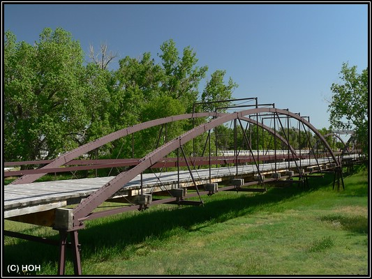Army Bridge bei Fort Laramie
