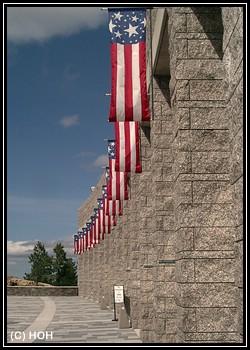 Patriotismus am Mount Rushmore